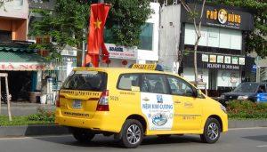 Quảng cáo taxi Vina