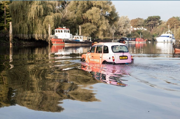 Virgin Media Business taxi takes to the River Thames