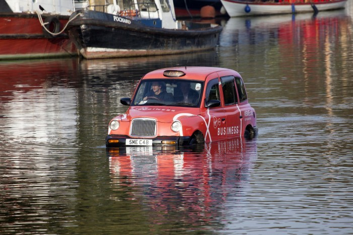 Virgin Media Business taxis takes to the Thames