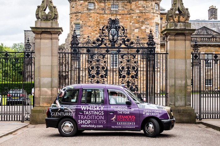 Taxi Advertising Scotland