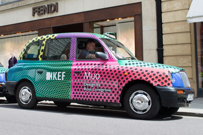 KEF taxis London