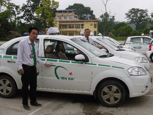 Danh bạ điện thoại taxi tại Yên Bái