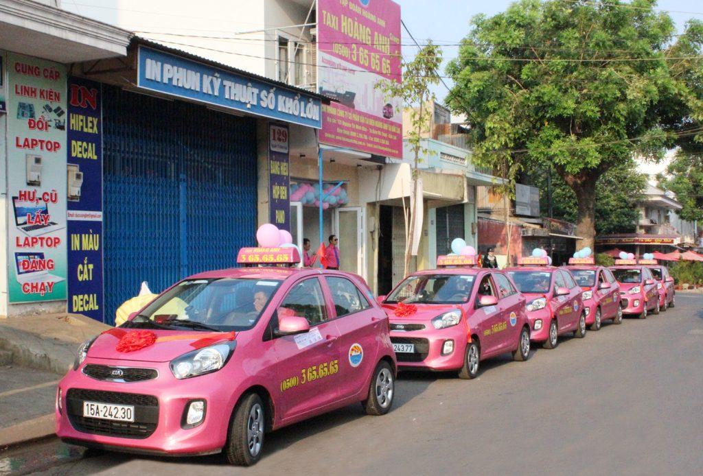 Danh bạ điện thoại taxi tại Đắk Lắk