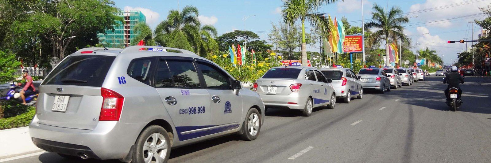 Danh bạ điện thoại taxi tại Cà Mau