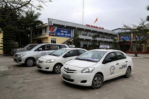 Danh bạ điện thoại taxi tại Ninh Bình