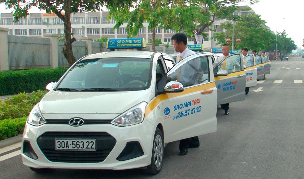 Danh bạ điện thoại taxi Sao Mai