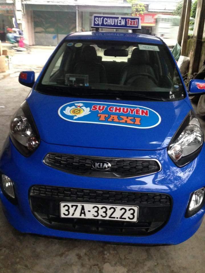 quang cao taxi su chuyen