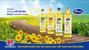 quảng cáo dầu ăn simply