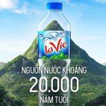 Quảng cáo nước khoáng Lavie