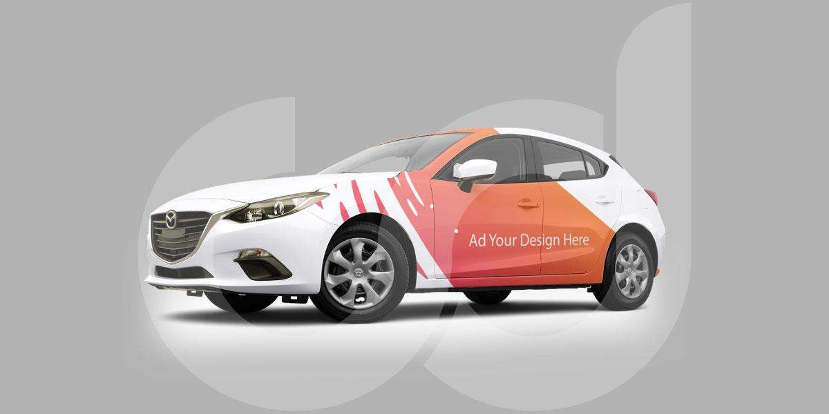 Quy trình bọc - dán decal cho quảng cáo taxi