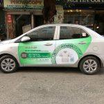 Quảng cáo xe chạy dịch vụ